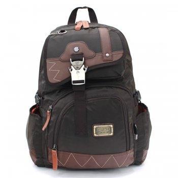 กระเป๋าเป้ รุ่น P9188 (สีน้ำตาล)