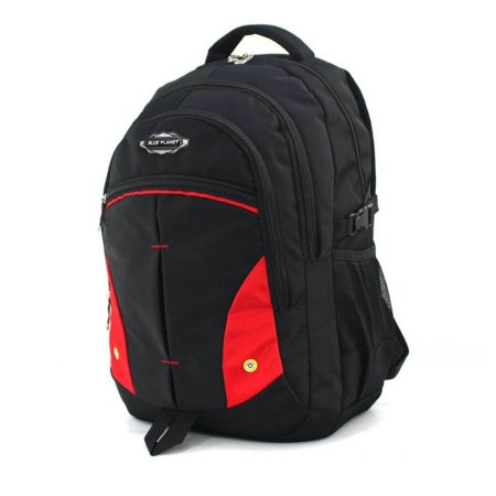 BLUE PLANET กระเป๋าเป้ รุ่น P1406-1 (สีดำ)