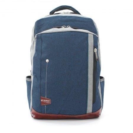 BP WORLD กระเป๋าเป้ รุ่น FINO P1407 (สีน้ำเงิน)