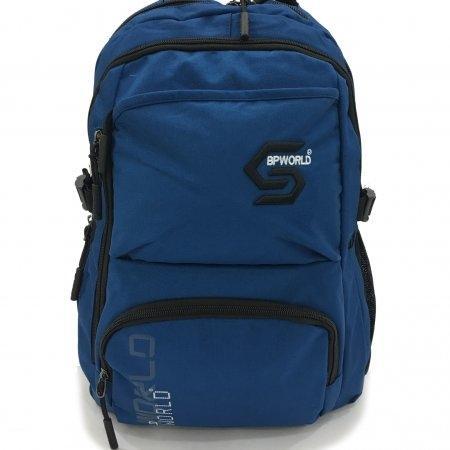 BP WORLD กระเป๋าเป้ รุ่น P987-BL (สี น้ำเงิน)