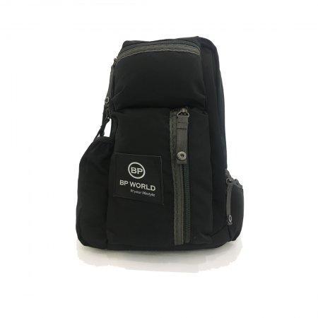 BP WORLD กระเป๋าคาดอก รุ่น C6416 - BK (สีดำ)