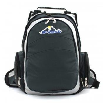 BP WORLD กระเป๋าเป้ รุ่น P02 ( สีเทา )