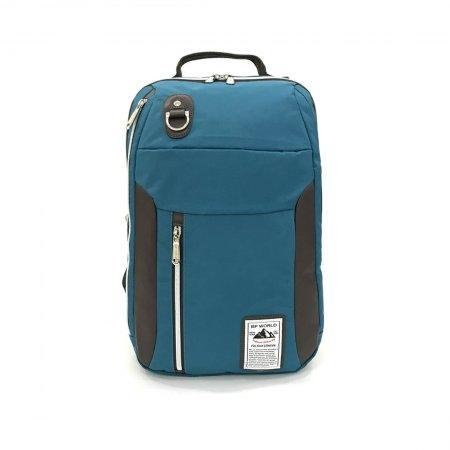 BP WORLD กระเป๋าเป้ รุ่น P003 (สีเขียวน้ำทะเล)