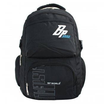 BP WORLD กระเป๋าเป้ รุ่น P1406 - สีดำ