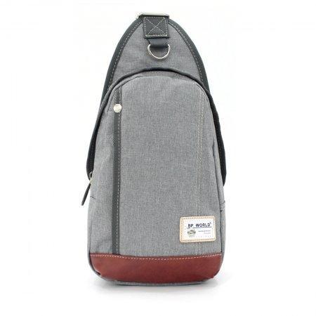 BP WORLD กระเป๋าสะพาย คาดอก รุ่น FINO B1411 (สีเทา)