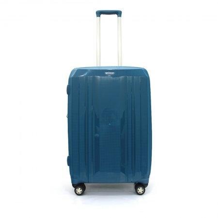 BP WORLD กระเป๋าเดินทาง 25 นิ้ว รุ่น 60014 (สีฟ้า)