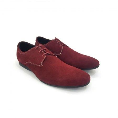 Mallard รองเท้าแบบผูกเชือก รุ่น ML050C (สีแดง)