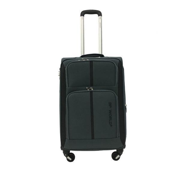 BP WORLD กระเป๋าเดินทาง รุ่น073 ขนาด24 นิ้ว สีเทา