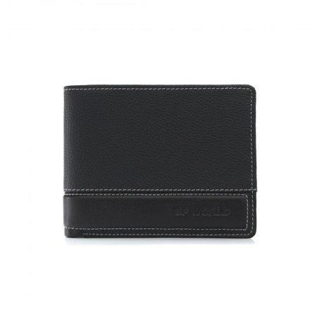 กระเป๋าธนบัตร หนังแท้ รุ่น WL17-01 (สีน้ำตาล)