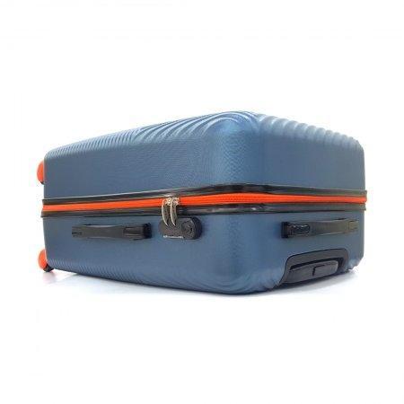 BP WORLD กระเป๋าเดินทาง 25 นิ้ว รุ่น 121 (สีฟ้า)