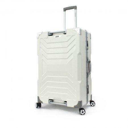 BP WORLD กระเป๋าเดินทาง 29 นิ้ว รุ่น Transformer 6023 (สีขาว)