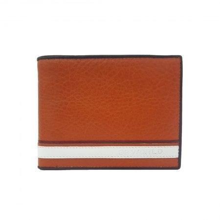 กระเป๋าธนบัตร หนังแท้ รุ่น WL18-02 (สีน้ำตาล)