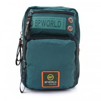กระเป๋าสะพายคาดอก รุ่น B5938 (สีเขียว)