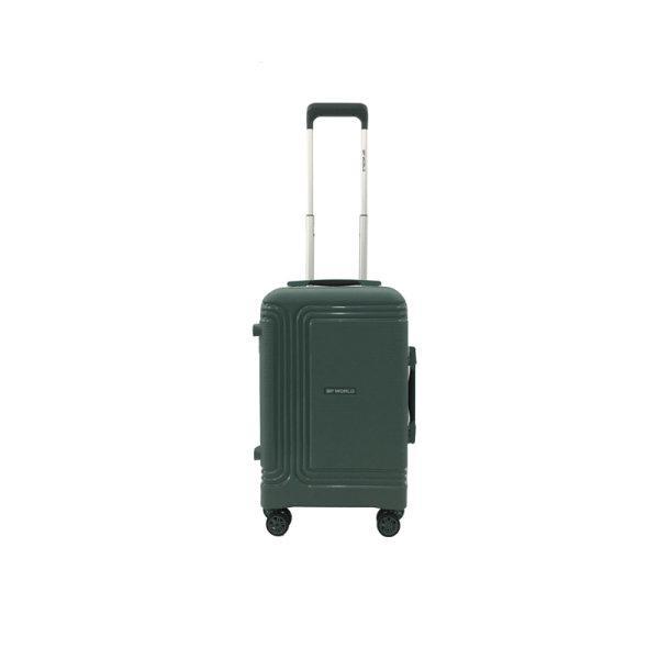 BP WORLD กระเป๋าเดินทาง รุ่น8375 ขนาด20 นิ้ว สี ดำ/เขียว/ชมพู