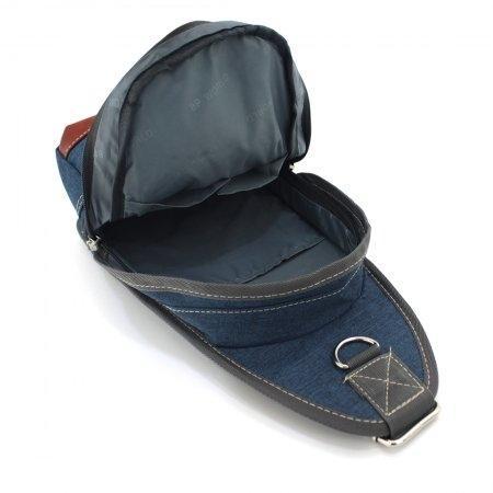 BP WORLD กระเป๋าสะพาย คาดอก รุ่น FINO B1411 (สีน้ำเงิน)