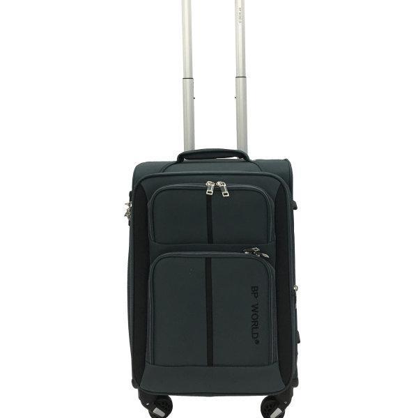 BP WORLD กระเป๋าเดินทาง รุ่น073 ขนาด20 นิ้ว สีเทา
