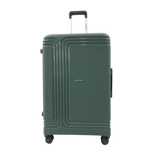 BP WORLD กระเป๋าเดินทาง รุ่น8375 ขนาด29 นิ้ว สี ดำ/เขียว/ชมพู