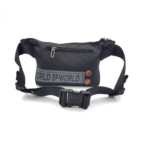 BP WORLD กระเป๋าคาดเอว รุ่น C6332 มีให้เลือก2สี สีดำ,สีน้ำตาล