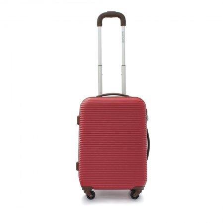 BLUE PLANET กระเป๋าเดินทาง 20 นิ้ว รุ่น 8111 (สีแดง)