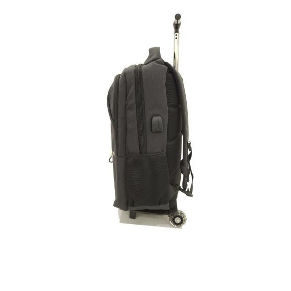 BP WORLD กระเป๋าเป้ คันชักล้อลาก รุ่น P1032-3 สีดำ