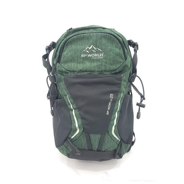 BP WORLD กระเป๋าเป้เดินป่า P25 ขนาด25L มีให้เลือก2 สี ได้แก่ สีเขียว และ สีฟ้า