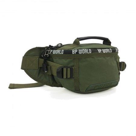 BP WORLD กระเป๋าคาดเอว CAMO Collection รุ่น C6433 - GR(สี เขียว)