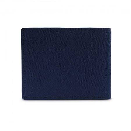 กระเป๋าธนบัตร หนังแท้ รุ่น WL17-08 (สีกรม)
