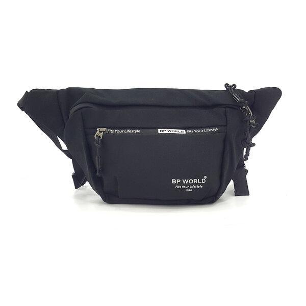 BP WORLD กระเป๋าคาดเอว รุ่น C6001 มีให้เลือก2สี ได้แก่ สีดำ,สีน้ำเงิน