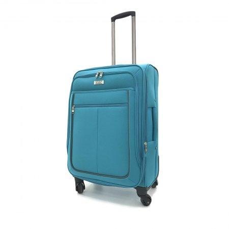 BP WORLD กระเป๋าเดินทาง 24 นิ้ว รุ่น Mallow 273 (สีฟ้า)