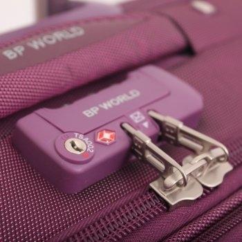 BP WORLD กระเป๋าเดินทาง 20 นิ้ว No. 1186 - สีม่วง