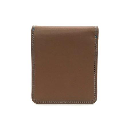 BP WORLD กระเป๋าธนบัตร หนังแท้ รุ่น BN1537 (สีน้ำตาล)