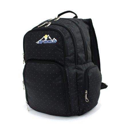 BP WORLD กระเป๋าเป้ รุ่น P01 (สีดำ)
