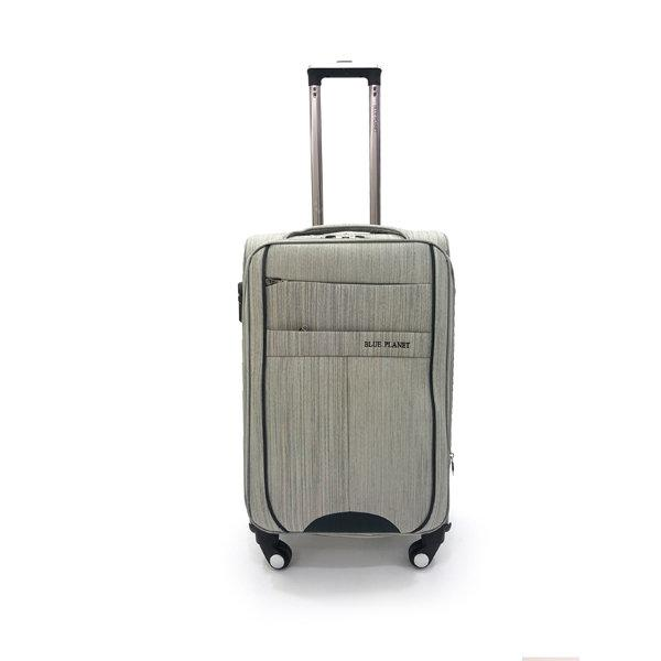 BLUE PLANET กระเป๋าเดินทาง รุ่น 4419 ขนาด24นิ้ว สีเทา