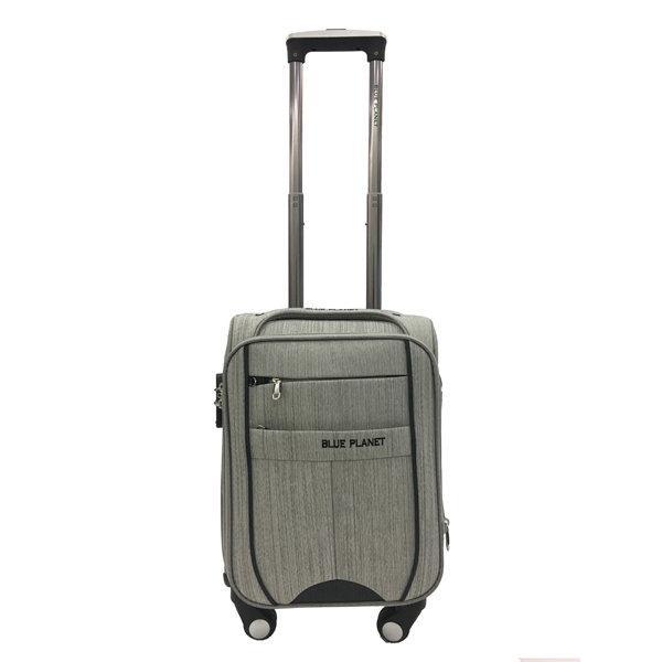 BLUE PLANET กระเป๋าเดินทาง รุ่น 4419 ขนาด16นิ้ว สีเทา