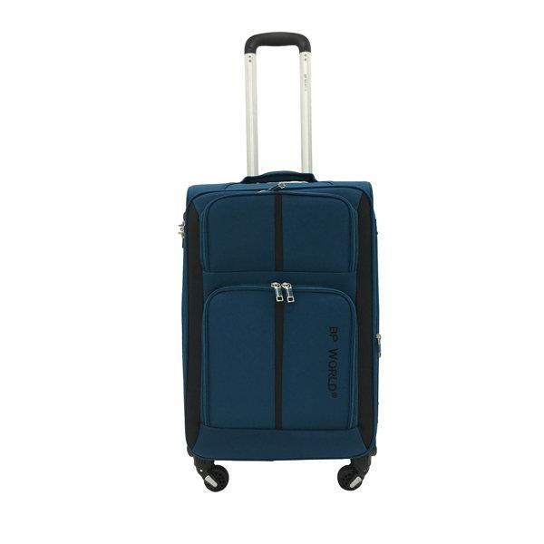 BP WORLD กระเป๋าเดินทาง รุ่น073 ขนาด24 นิ้ว สีน้ำเงิน
