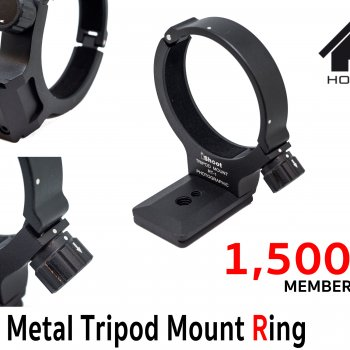 Full Metal Tripod Mount Ring