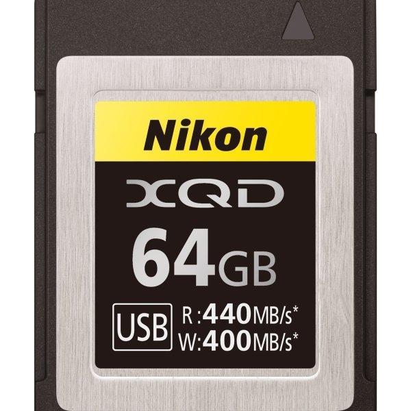 NIKON XQD 64GB read 440MB/s write 400MB/s