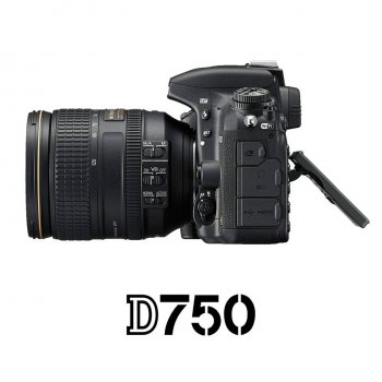 NIKON D750 24-120mm. VR Lens Kit