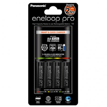 Eneloop Pro Panasonic Smart & Quick Charger
