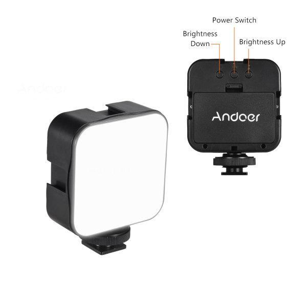 Andoer Mini LED Fill-in Lamp
