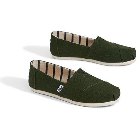 TOMS รองเท้าผู้หญิง รุ่น PINE HERITAGE CANVAS
