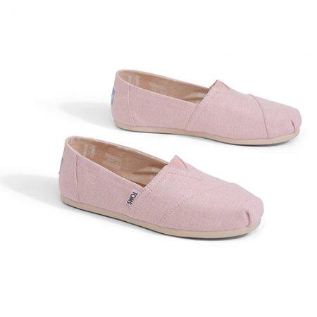 TOMS รองเท้าผู้หญิง รุ่น BLOSSOM SLUB CHAMBRAY