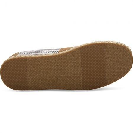 TOMS รองเท้าผู้ชาย รุ่น OXFORD TAN COTTON TWILL ETHNIC BLANKET STITCH