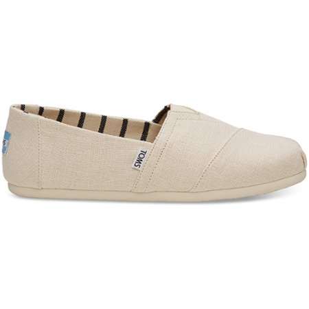 TOMS รองเท้าผู้ชาย รุ่น ANTIQUE WHITE HERITAGE CANVAS