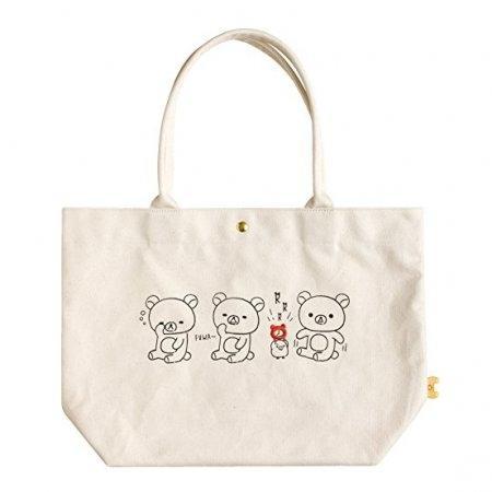 กระเป๋าผ้าดิบ Rilakkuma Sleepy CU39701