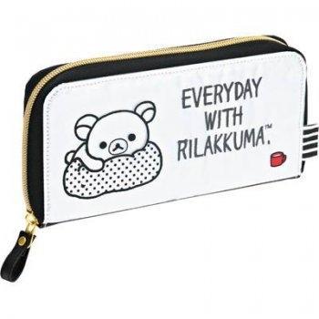 กระเป๋าสตางค์ทรงยาว Rilakkuma Monotone WL28701