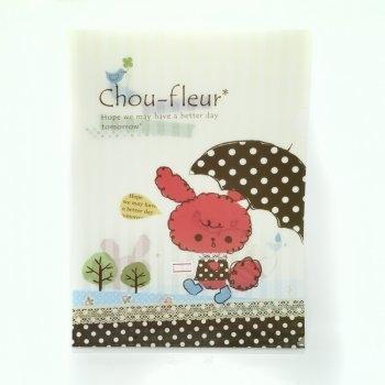 แฟ้มใส่เอกสาร A4 Chou-fleur*