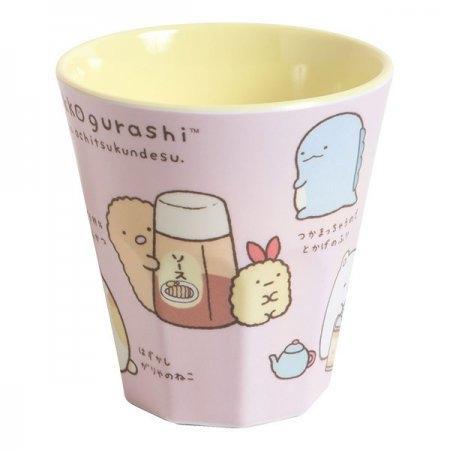 แก้วเซรามิก Sumikko สีชมพู KY38401