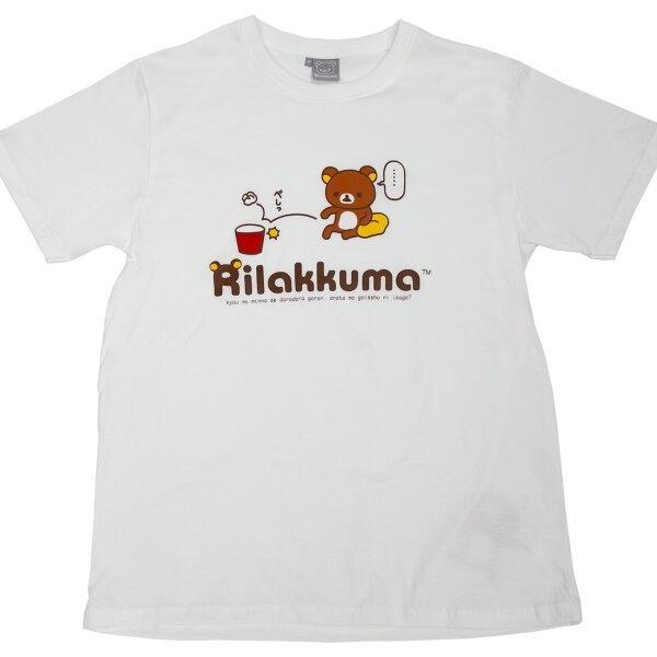 เสื้อยืด Rilakkuma สีขาว(เด็ก) RK61-KW08-010
