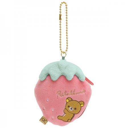 พวงกุญแจกระเป๋า Rilakkuma Strawberry CK61801